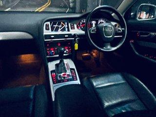 2011 Audi A6 4F MY11 Multitronic Grey 1 Speed Constant Variable Sedan.
