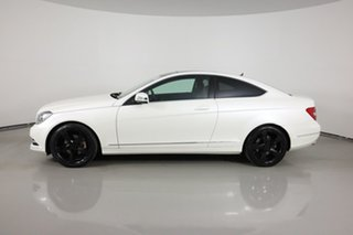 2013 Mercedes-Benz C250 C204 MY13 Sport BE White 7 Speed Automatic G-Tronic Coupe