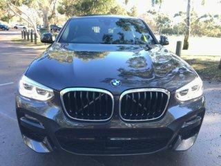 2020 BMW X4 G02 xDrive30i Coupe Steptronic M Sport Grey 8 Speed Sports Automatic Wagon.