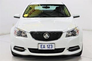 2016 Holden Commodore VF II MY16 Evoke White 6 Speed Sports Automatic Sedan.