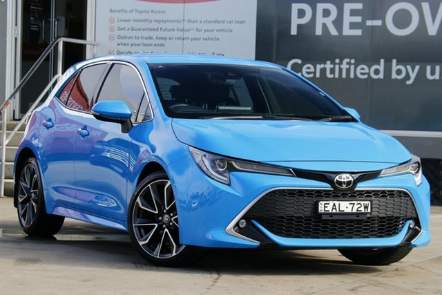 Pre-Owned Toyota Corolla Mzea12R ZR Guildford, 2019 Toyota Corolla Mzea12R ZR Eclectic Blue 10 Speed Constant Variable Hatchback