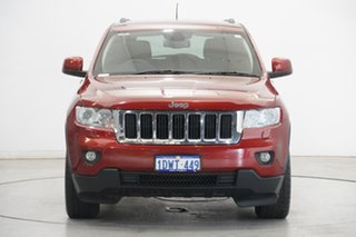 2012 Jeep Grand Cherokee WK MY2012 Laredo Deep Cherry Red 5 Speed Sports Automatic Wagon.