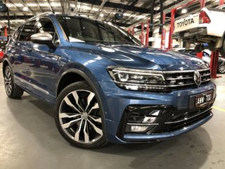 2018 Volkswagen Tiguan 5NA MY18 Allspace 140 TDI Highline 7 Speed Auto Direct Shift Wagon.
