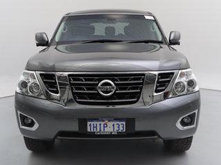 2018 Nissan Patrol Y62 Series 3 Update TI (4x4) Grey 7 Speed Automatic Wagon.