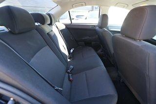 2010 Mitsubishi Lancer CJ MY10 ES Black 5 Speed Manual Sedan