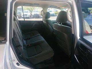 2016 Toyota Landcruiser VDJ200R MY16 GXL (4x4) Silver Pearl 6 Speed Automatic Wagon