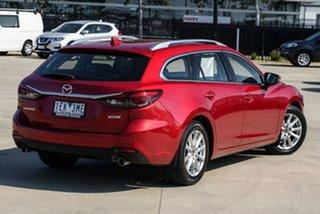 2014 Mazda 6 GJ1031 Touring SKYACTIV-Drive Red 6 Speed Sports Automatic Wagon.