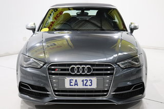2014 Audi S3 8V MY15 S Tronic Quattro Grey 6 Speed Sports Automatic Dual Clutch Cabriolet