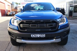2019 Ford Ranger PX MkIII MY20.25 Raptor 2.0 (4x4) Blue 10 Speed Automatic Double Cab Pick Up