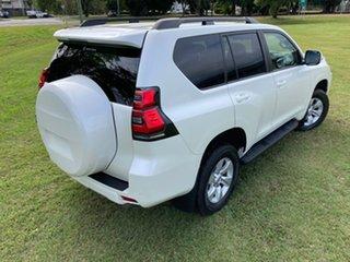 2018 Toyota Landcruiser Prado GDJ150R MY18 GXL (4x4) Crystal Pearl 6 Speed Automatic Wagon