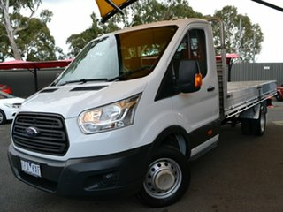 2014 Ford Transit VO 470E White 6 Speed Manual Single Cab Cab Chassis