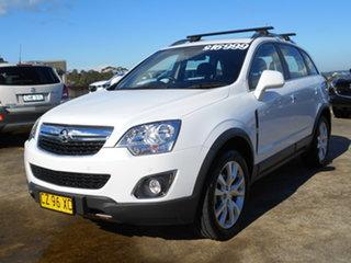 2014 Holden Captiva CG MY15 5 LTZ White 6 Speed Sports Automatic Wagon