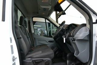 2014 Ford Transit VO 470E White 6 Speed Manual Single Cab Cab Chassis.