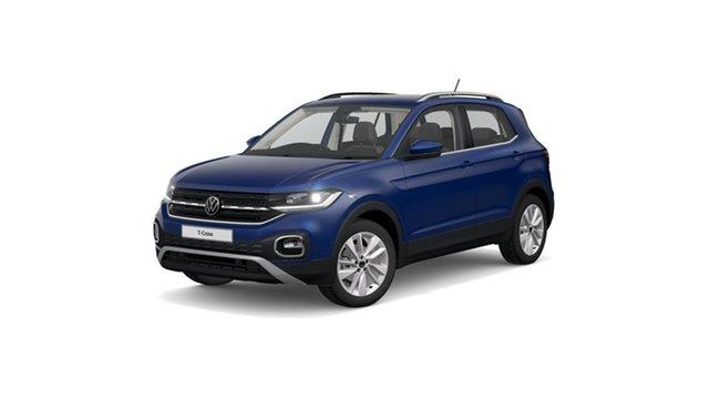 New Volkswagen T-Cross C1 85TSI Style Hamilton, 2021 Volkswagen T-Cross C1 85TSI Style Reef Blue Metallic 7 Speed Semi Auto SUV