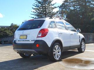 2014 Holden Captiva CG MY15 5 LTZ White 6 Speed Sports Automatic Wagon.