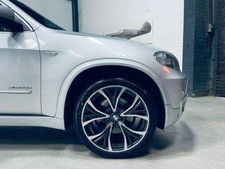 2012 BMW X5 E70 MY12.5 xDrive30d Steptronic Silver 8 Speed Sports Automatic Wagon.