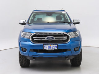 2019 Ford Ranger PX MkIII MY19.75 XLT 2.0 (4x4) Blue 10 Speed Automatic Super Cab Utility.