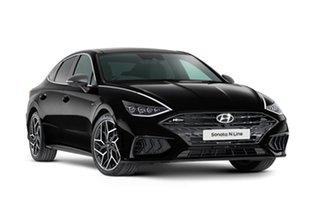 2021 Hyundai Sonata DN8.V1 N Line Midnight Black 8 Speed Automatic Sedan