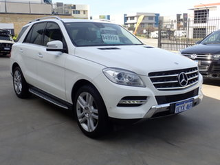 2014 Mercedes-Benz ML250 CDI BlueTEC 166 MY14 S.E. Fuji White 7 Speed Automatic Wagon.