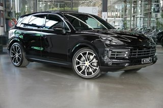 2018 Porsche Cayenne 9YA MY19 S Tiptronic Black 8 Speed Sports Automatic Wagon.