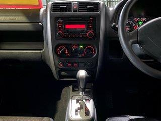 2007 Suzuki Jimny SN413 T6 JLX Red 4 Speed Automatic Hardtop