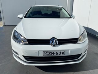 2015 Volkswagen Golf VII MY15 90TSI DSG Comfortline White 7 Speed Sports Automatic Dual Clutch Wagon.