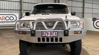 2001 Nissan Patrol GU II DX White 5 Speed Manual Wagon