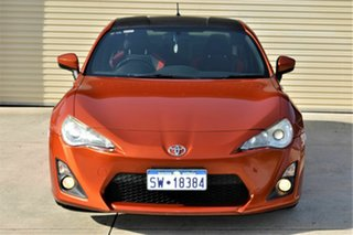 2012 Toyota 86 ZN6 GT Orange 6 Speed Manual Coupe.
