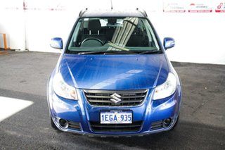 2013 Suzuki SX4 GY Crossover S AWD Blue Continuous Variable Hatchback.
