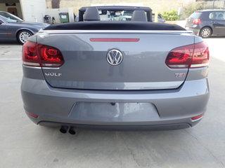 2012 Volkswagen Golf 1C MY13 118 TSI Dark Gun Metal 7 Speed Auto Direct Shift Cabriolet