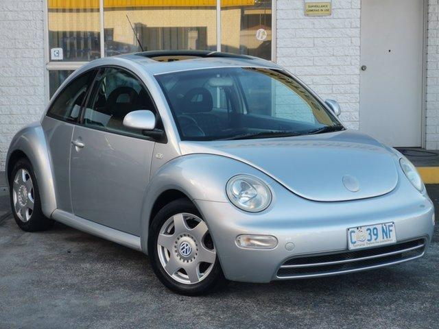 Used Volkswagen Beetle 9C MY2002.5 Coupe Derwent Park, 2002 Volkswagen Beetle 9C MY2002.5 Coupe Silver 4 Speed Automatic Liftback