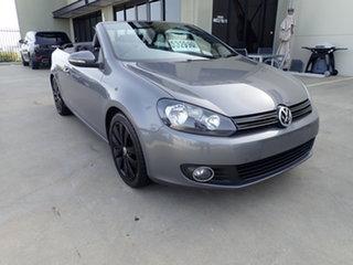 2012 Volkswagen Golf 1C MY13 118 TSI Dark Gun Metal 7 Speed Auto Direct Shift Cabriolet.