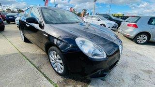 2014 Alfa Romeo Giulietta Series 0 MY13 Distinctive TCT JTD-M Black 6 Speed.