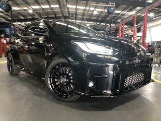 2021 Toyota Yaris Gxpa16R GR Tarmac Black 6 Speed Manual Hatchback.