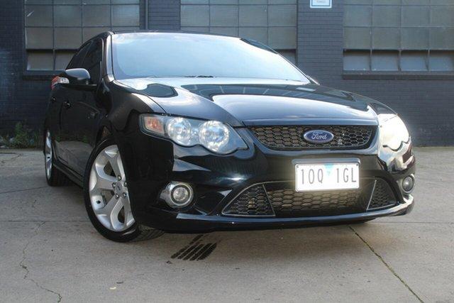 Used Ford Falcon FG Upgrade XR6 50th Anniversary West Footscray, 2010 Ford Falcon FG Upgrade XR6 50th Anniversary Black 6 Speed Auto Seq Sportshift Sedan