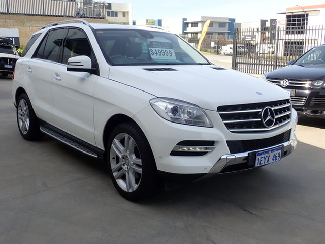Used Mercedes-Benz ML250 CDI BlueTEC 166 MY14 S.E Wangara, 2014 Mercedes-Benz ML250 CDI BlueTEC 166 MY14 S.E. Fuji White 7 Speed Automatic Wagon