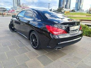 2015 Mercedes-Benz CLA-Class C117 805+055MY CLA200 DCT Black 7 Speed Sports Automatic Dual Clutch.
