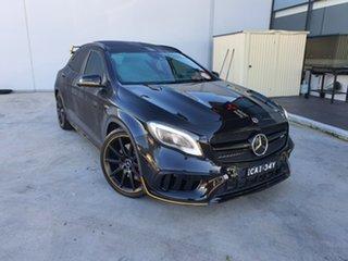 2017 Mercedes-Benz GLA-Class X156 808MY GLA45 AMG SPEEDSHIFT DCT 4MATIC Black 7 Speed.