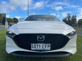 2020 Mazda 3 BP2HLA G25 SKYACTIV-Drive Evolve Snowflake White 6 Speed Sports Automatic Hatchback.