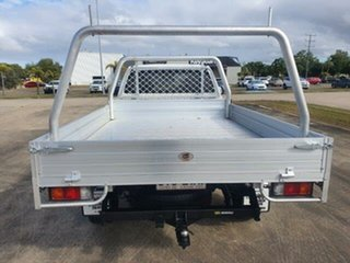 2013 Mazda BT-50 UP0YD1 XT 4x2 Hi-Rider Cool White 6 Speed Sports Automatic Cab Chassis