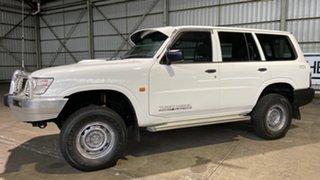 2001 Nissan Patrol GU II DX White 5 Speed Manual Wagon.
