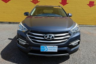 2017 Hyundai Santa Fe DM4 MY18 Active Blue 6 Speed Sports Automatic Wagon.
