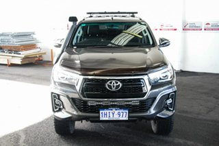 2016 Toyota Hilux GUN126R SR5 (4x4) Graphite 6 Speed Manual Dual Cab Utility.