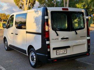 2019 Renault Trafic X82 85kW Low Roof SWB White 6 Speed Manual Van.