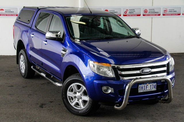 Pre-Owned Ford Ranger PX XLT 3.2 (4x4) Rockingham, 2015 Ford Ranger PX XLT 3.2 (4x4) 6 Speed Automatic Double Cab Pick Up