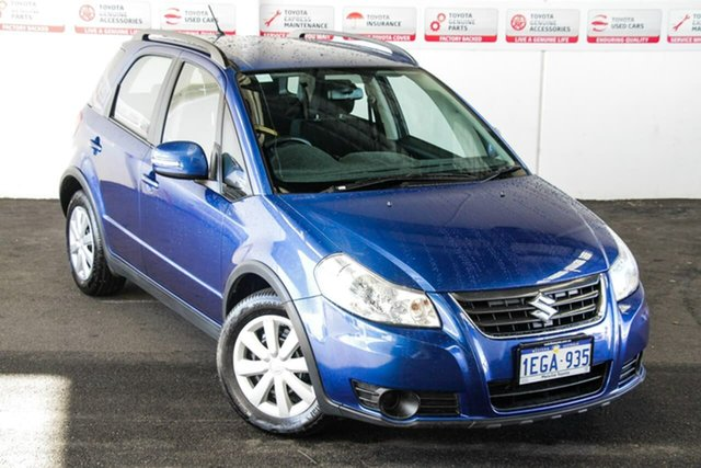 Pre-Owned Suzuki SX4 GY Crossover S AWD Myaree, 2013 Suzuki SX4 GY Crossover S AWD Blue Continuous Variable Hatchback