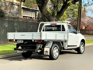 2013 Holden Colorado RG MY13 LX 4x2 White 6 Speed Sports Automatic Cab Chassis
