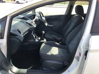 2010 Ford Fiesta WT LX White 5 Speed Manual Hatchback