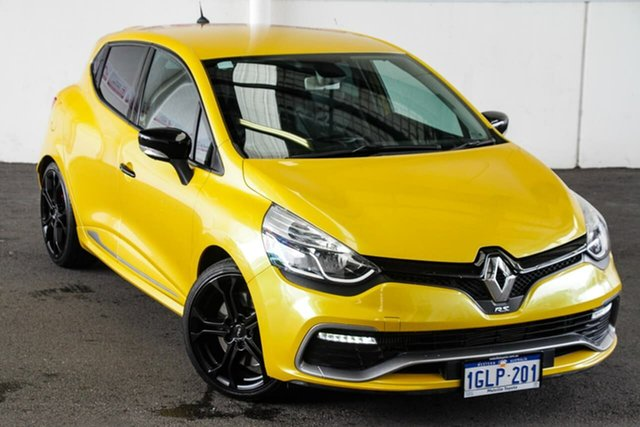 Pre-Owned Renault Clio X98 RS 200 Sport Myaree, 2013 Renault Clio X98 RS 200 Sport Gold 6 Speed Automatic Hatchback