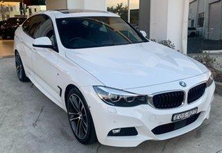 2017 BMW 3 Series F34 LCI 330i Gran Turismo M Sport Alpine White 8 Speed Sports Automatic Hatchback.